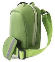 Интересная сумка для зеркальной/беззеркальной фотокамеры Tucano Holster Scherma (Green) CBSC-HL-V зеленый