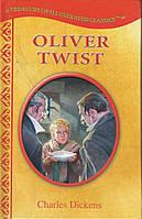 """Книга на английском """"Oliver Twist"""" Charles Dickens (адаптированное, иллюстрированное издание)"""
