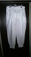 Роскошь ! Легкие жен. летние брюки L-XL с поясом