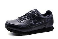 Кроссовки зимние Nike Airmax, мужские, на меху, черные, р. 41 42 44 45, фото 1