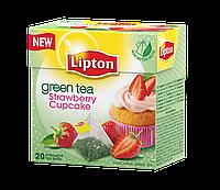 """Фруктовый чай в пирамидках Lipton """"Клубничный капкейк"""", 20шт"""