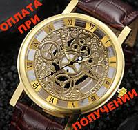 Часы мужские ПОД механические, скелетон, Skeleton