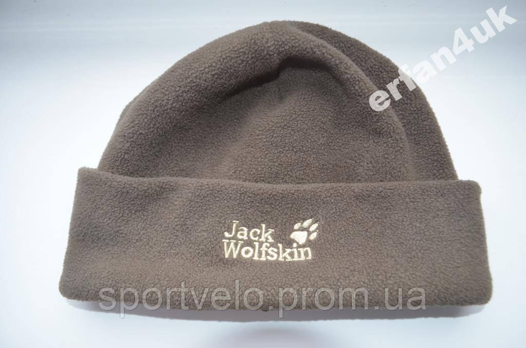 Оригінал.флісова зимова шапка Jack Wolfskin з Нім