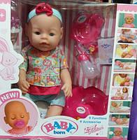 Кукла-пупс Baby Born, Оригинал, девять функций. BL-887.