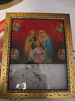 Настенные часы с картиной(иконой)
