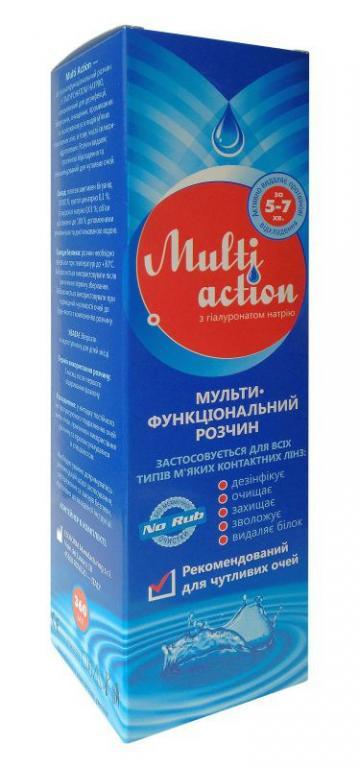 Раствор для линз Esoform Multi Action 360 мл