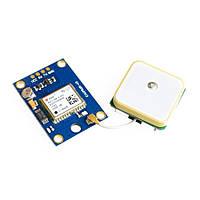 GPS приёмник GY-NEO6MV2 с активной антенной (uBlox Neo 6M)