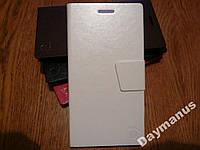 Чехол книжка для Lenovo К900 Foot (белый)