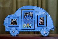 Часы настольные детские с фоторамками (05112)