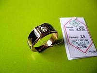 Золотая печатка 20 размер 4.57 грамма Эмаль Золото 585* пробы