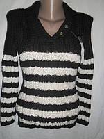 Кофта женская- свитерок, крупная вязка. (Венгрия)
