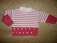 Нарядный свитер для девочки 1,5года