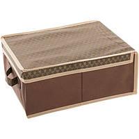 Кофр - короб 30 x 40 x 16 см коричневый