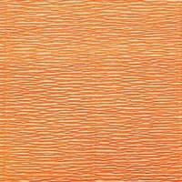 Креп (гофро) бумага 180 гр №581 оранжевый