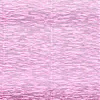 Креп (гофро) бумага 180 гр №554 детский розовый