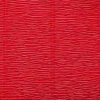 Креп (гофро) бумага 180 гр №589 красный скарлет