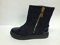 Женские ботинки сапоги на  високой платформе