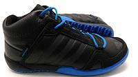 Кроссовки зимние Adidas Daroga на меху синие мужские оригинальные кроссовки адидас