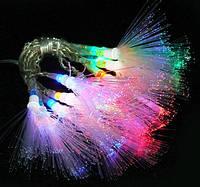 Новогодняя светодиодная LED 100 БЕЛАЯ гирлянда кисть 7 метров