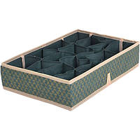 Органайзер с ячейками для вещей зелёный