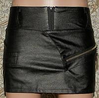 Кожаная юбка-шорты Moxuanqi (M)