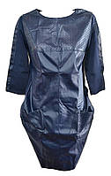 Платье женское карманы перфорация