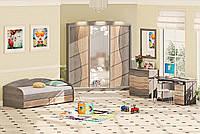 Дитяча кімната ДЧ-4110 Комфорт-Мебель / Комплекты детской мебели ДЧ-4110 Комфорт-Мебель
