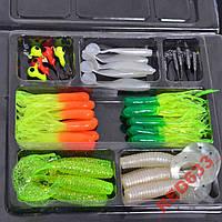 Набор приманок для рыбалки 45 предметов