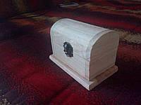 Заготовка деревянная сундук для декорирования