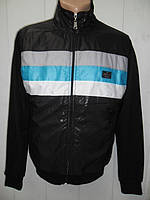 Курточка - ветровка мужская, черная, молодежная.