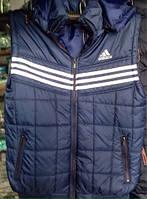 Мужская безрукавка жилетка утеплённая Adidas 48-54р