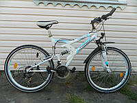 Велосипед двухподвес ZUNDAPP с генератором Germany
