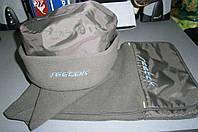 Reebok женский флисовый набор шапка и шарф зима