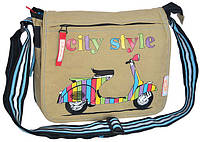 Молодежная сумка через плечо Yes!,City