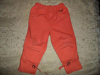 Летние штаны капри на девочку 2-3года