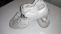 Кожа детские летние туфельки шлепки р-р 35 ст.23.5