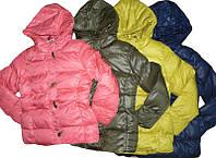 Теплые осенние куртки на синтепоне и флисовой подкладке для девочек Glo-story 134-140, 164-170р.