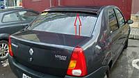 Дефлектор заднего стекла (козырёк) на Рено Логан с 2012> седан ANV air.