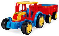 Трактор с прицепом серия «Гигант» Wader, 66100, Вадер