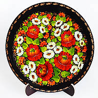 Тарелка декоративная. Украинский сувенир. Яркие краски