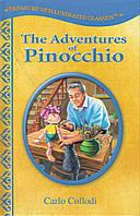 """Книга на английском """"The Adventures of Pinocchio"""", Carlo Collodi (адаптированное, иллюстрированное издание)"""