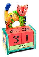Настольный календарь для детей Кот