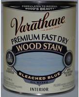 Морилка для дерева на масляной основе,тонирующее масло,цвет выбеленный голубой Rust Oleum(США), банка 0,946 л.