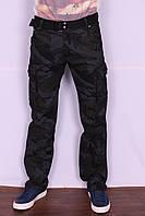 Мужские джинсы-карго камуфлированные Iteno (код 2096-1)