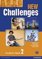 Challenges NEW. Level 2 - підручник (учебник)