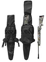 Рюкзак охотника 20 л с чехлом для ружья (130см) черный