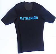 Неопреновая футболка для подводной охоты KatranGun 3 мм; нейлон/открытая пора