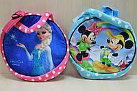 Детская мягкая сумочка с рисунком размер 24*24 см