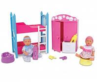 Кукольный набор Спальная комната Mini New Born Baby 12 см (Simba)