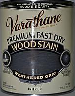 Морилка для дерева на масляной основе,тонирующее масло,цвет серый графит Graphite gray Rust Oleum(США)0,946л